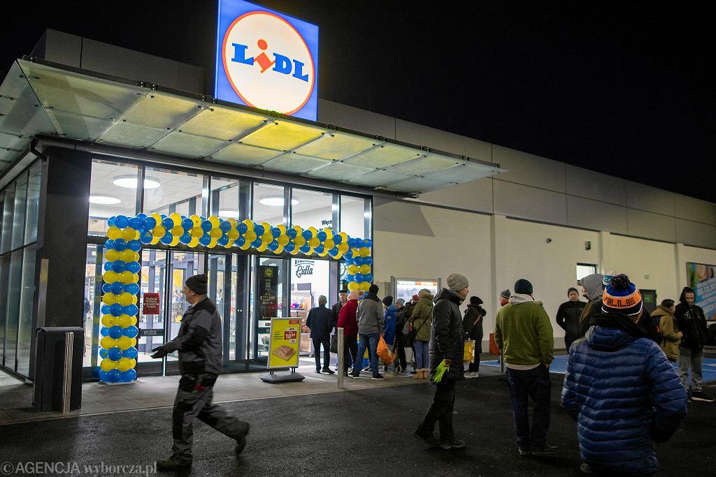 Otwarcie Lidla przy ul. Glinki 68 w Bydgoszczy