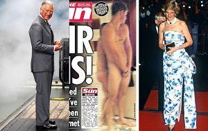 Książę Karol, Książę Harry, Księżna Diana