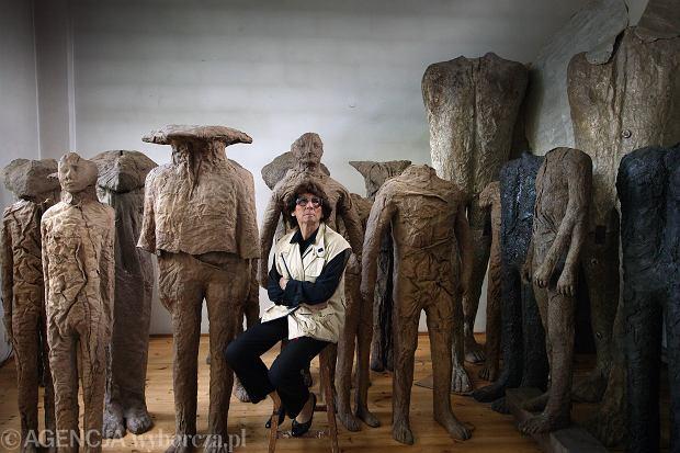 Zdjęcie numer 0 w galerii - Magdalena Abakanowicz kończy w sobotę 85 lat. Wejdź w świat jej dzieł [GALERIA]