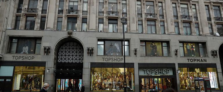Brytyjski gigant odzieżowy ogłosił bankructwo. Zatrudnia 13 tys. osób