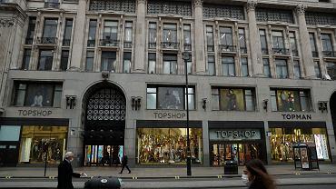 Sklepy Topshop należące do Arcadia Group