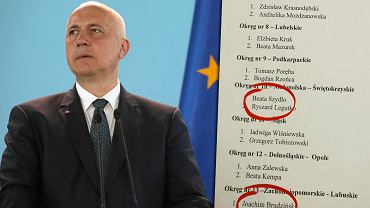 'Jedynki' PiS do Europarlamentu