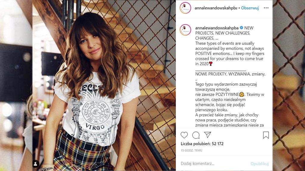Anna Lewandowska o zmianach