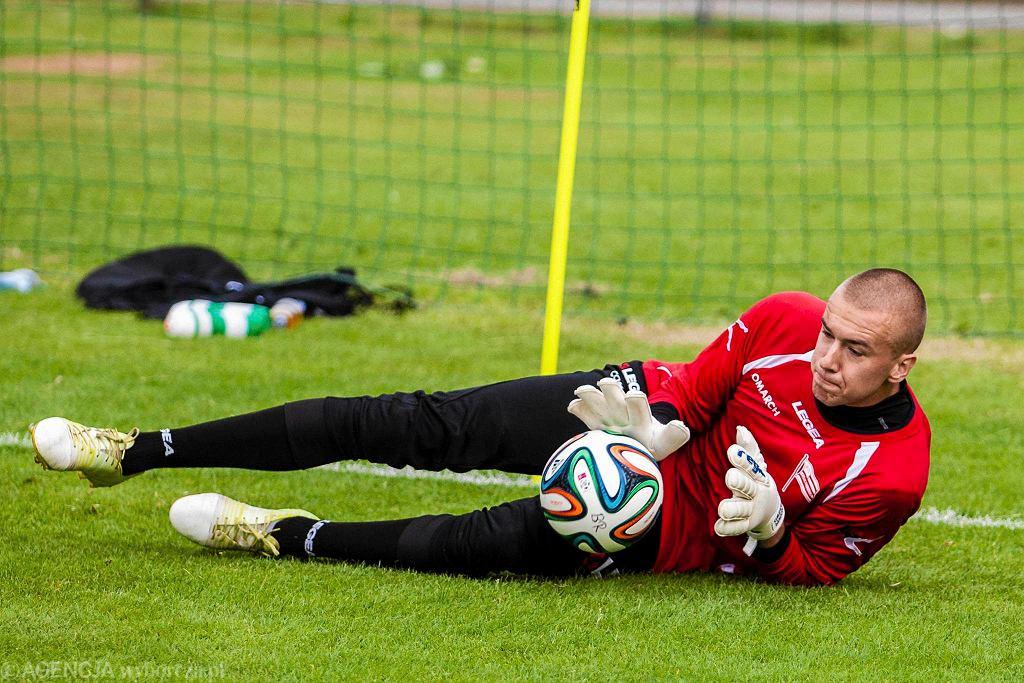 Pierwszy trening Cracovii. Grzegorz Sandomierski