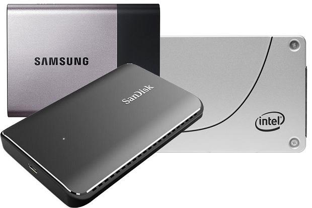 Dyski zewnętrzne SSD