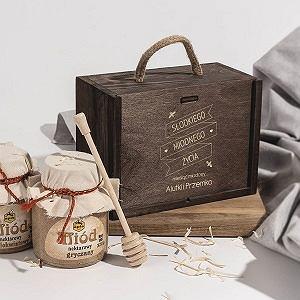 Skrzynki drewniane ozdobne - na herbatę, na wino, na pamiątki