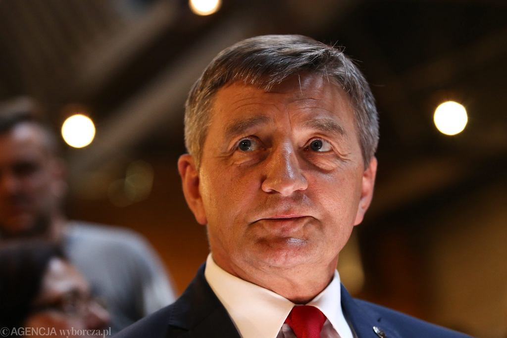 Marszałek Sejmu Marek Kuchciński.