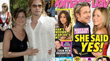Jennifer Aniston i Brad Pitt