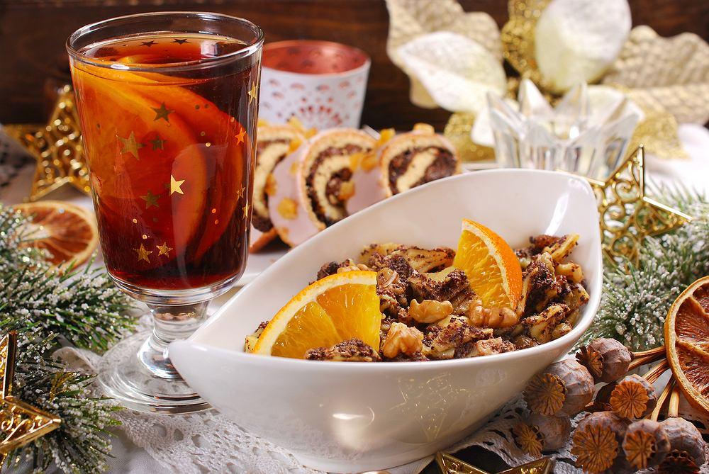 Kompot z suszu to tradycyjny napój wigilijny. Zdjęcie ilustracyjne