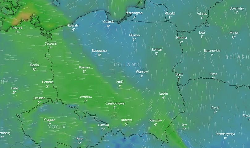 IMGW wydał ostrzeżenia dla 14 województw. Znowu powieje silny wiatr