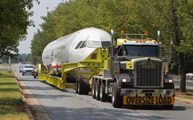 Transport Airbusa z katastrofy na rzece Hudson