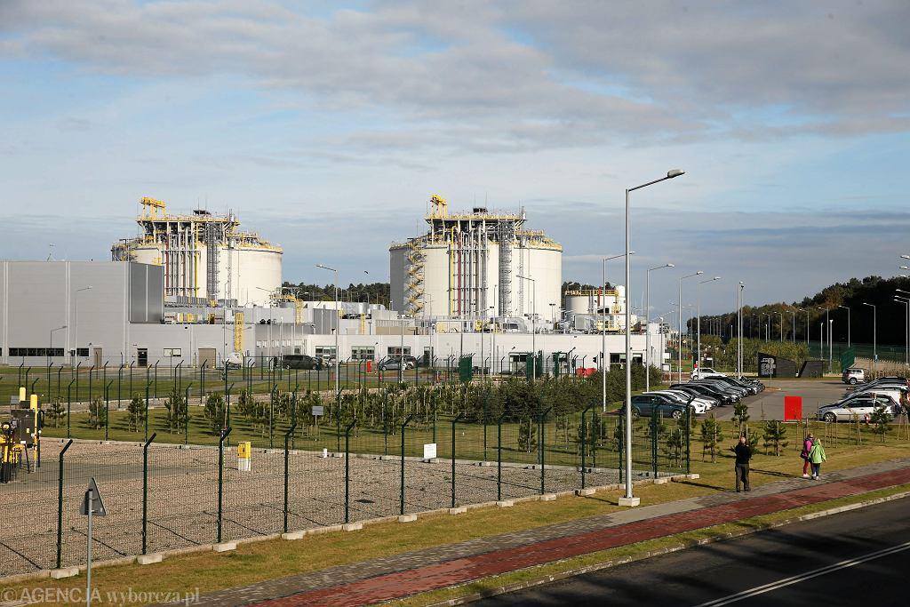 Terminal gazowy LNG im. prezydenta Lecha Kaczyńskiego w Świnoujściu