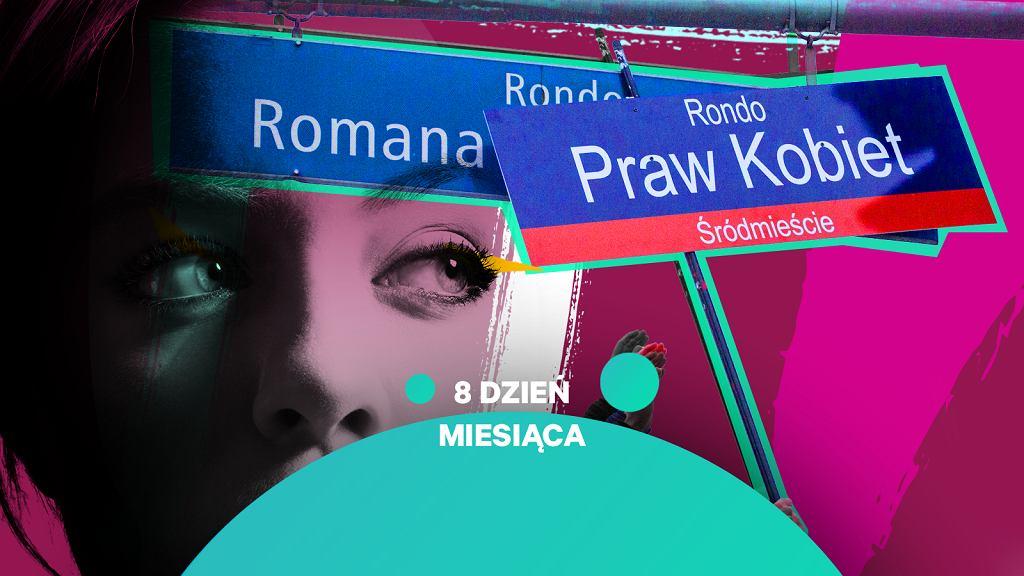Symboliczne przemianowanie ronda Dmowskiego na rondo Praw Kobiet