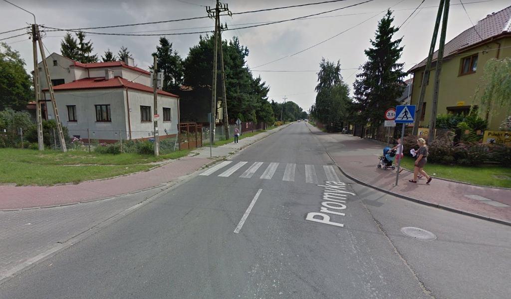 Pruszków. Przejście dla pieszych, na którym doszło do wypadku