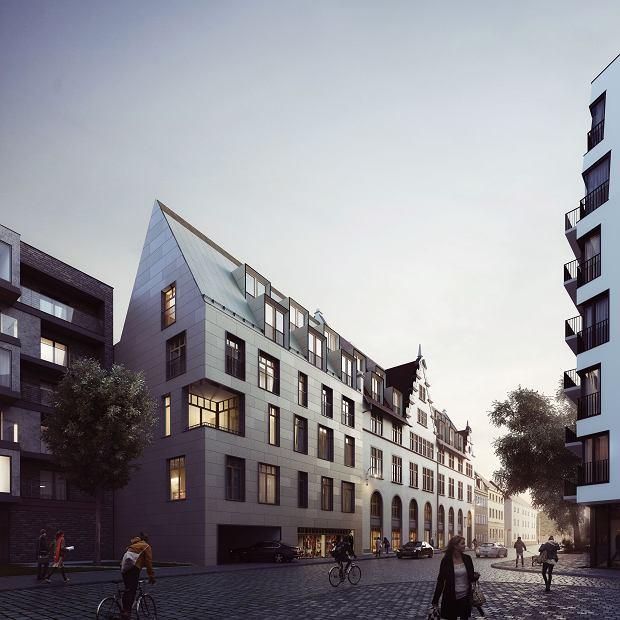Inwestycja Witolda 3840 firmy Okre Development. Tak po renowacji ma wyglądać budynek dawnego składu celnego przy ul. Księcia Witolda