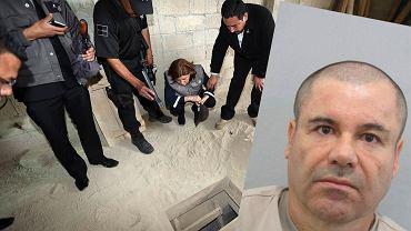"""Tunel, którym uciekł Joaquin """"El Chapo"""" Guzman"""