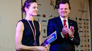 Anna Jagaciak-Michalska podczas Puszczykowskiej Gali Sportu