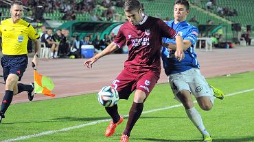 FK Sarajevo - Lech Poznań 0:2. Dawid Kownacki