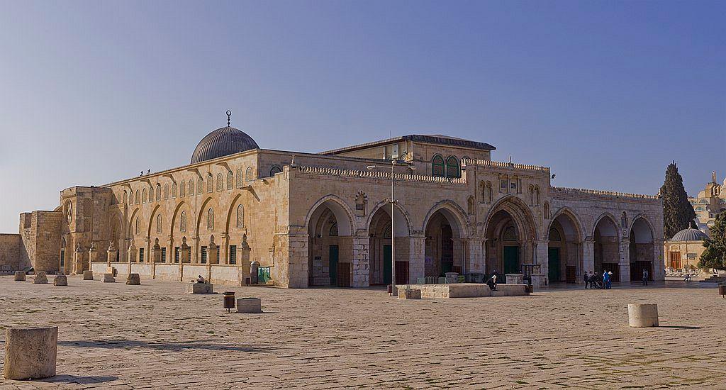 Pożar w meczecie Al-Aksa w Jerozolimie. Świątynia płonęła w tym samym czasie co katedra Notre-Dame