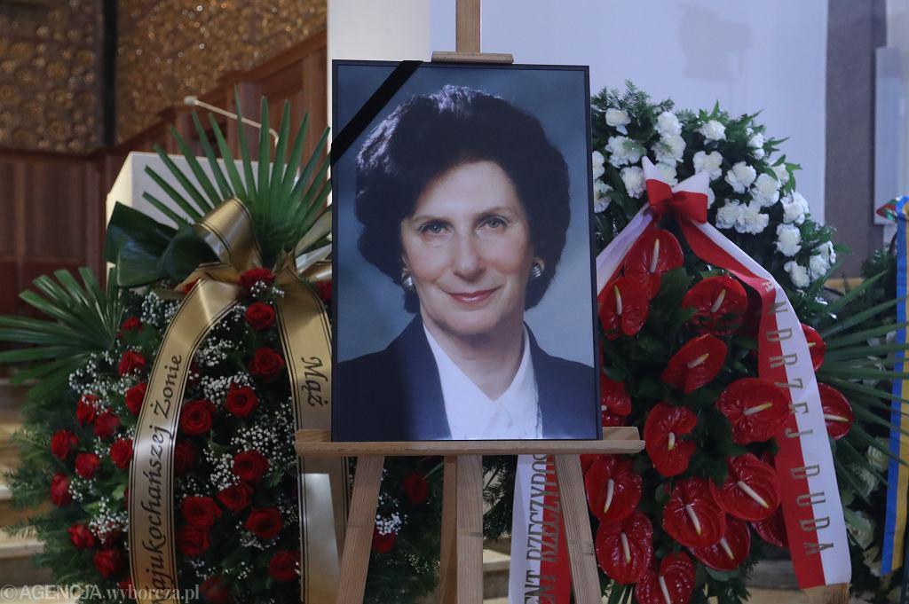 Pogrzeb Ireny Szewińskiej w Warszawie