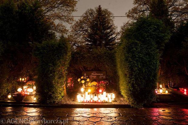 Zdjęcie numer 7 w galerii - Cmentarze najpiękniej wyglądają nocą. Zobacz zdjęcia z wrocławskiej nekropolii