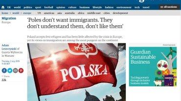 """Artykuł Adama Leszczyńskiego w """"The Guardian"""""""