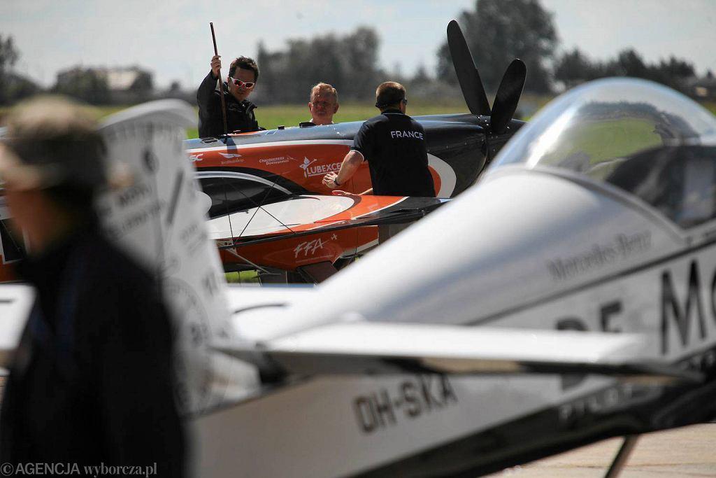 XII Mistrzostwa Świata w Akrobacji Samolotowej w klasie Advanced. Lotnisko Radom - Sadków