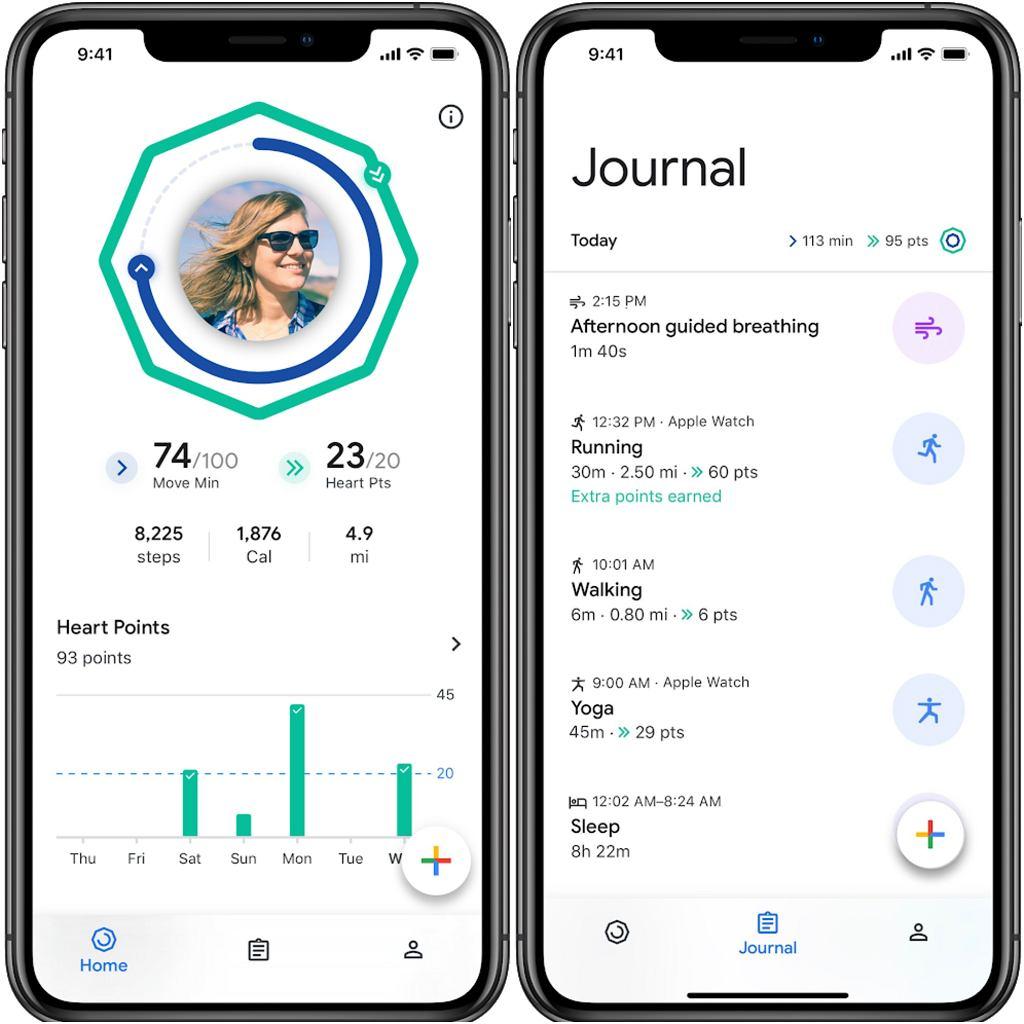 Google Fit dostępne na iOS i Apple Watch