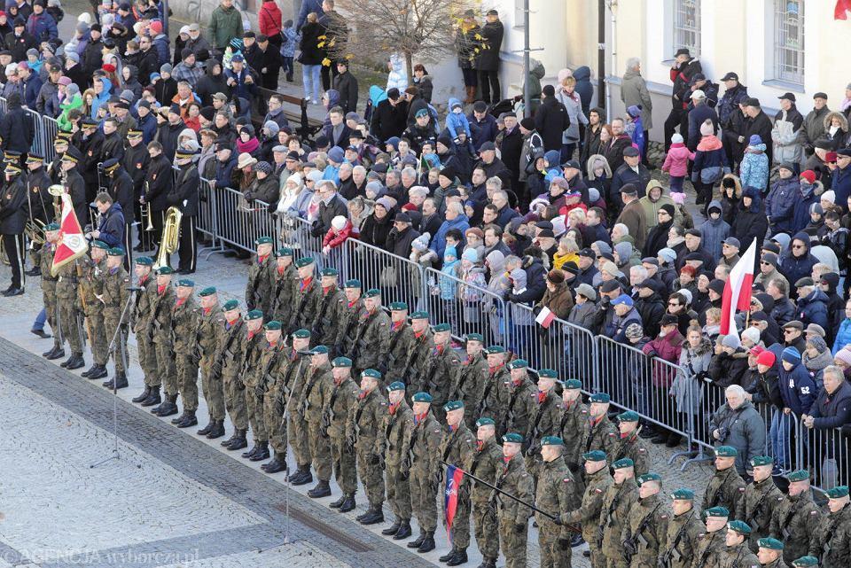 Białystok. Święto 99. rocznicy odzyskania przez Polskę niepodległości