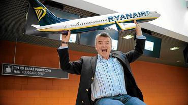 Szef Ryanair Michael O'Leary