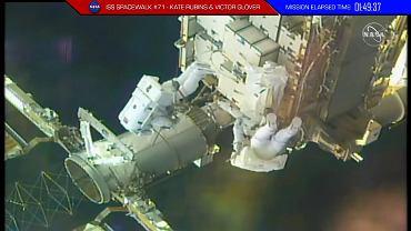 Spacer kosmiczny NASA - 28 lutego 2021