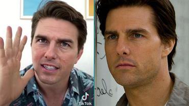 Po prawej - Tom Cruise. Po lewej - niby też, a jednak nie do końca. To sztuczna inteligencja, która się pod niego podszyła