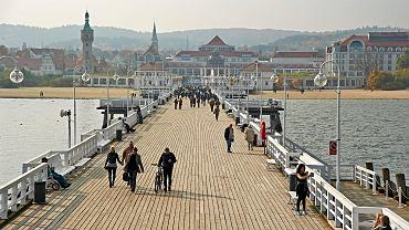 Molo w Sopocie zamknięte do odwołania