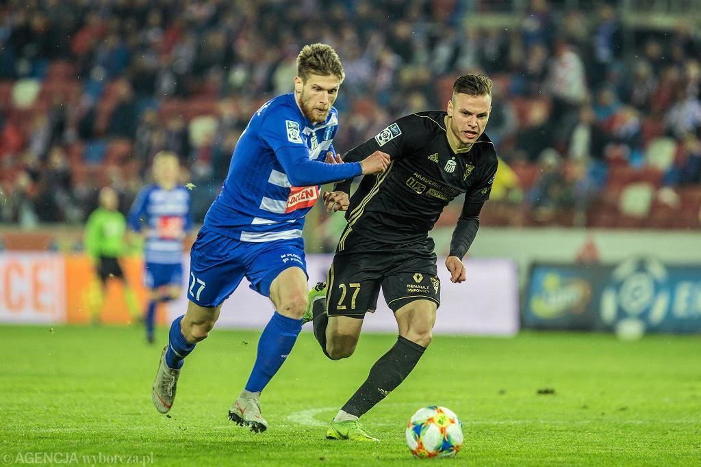 Alen Stevanović w meczu Wisły z Górnikiem Zabrze