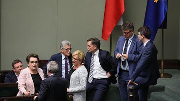 Posiedzenie Sejmu ws. zmian w kodeksie karnym podnoszących kary dla pedofilów, Warszawa 15.05.2019 r.