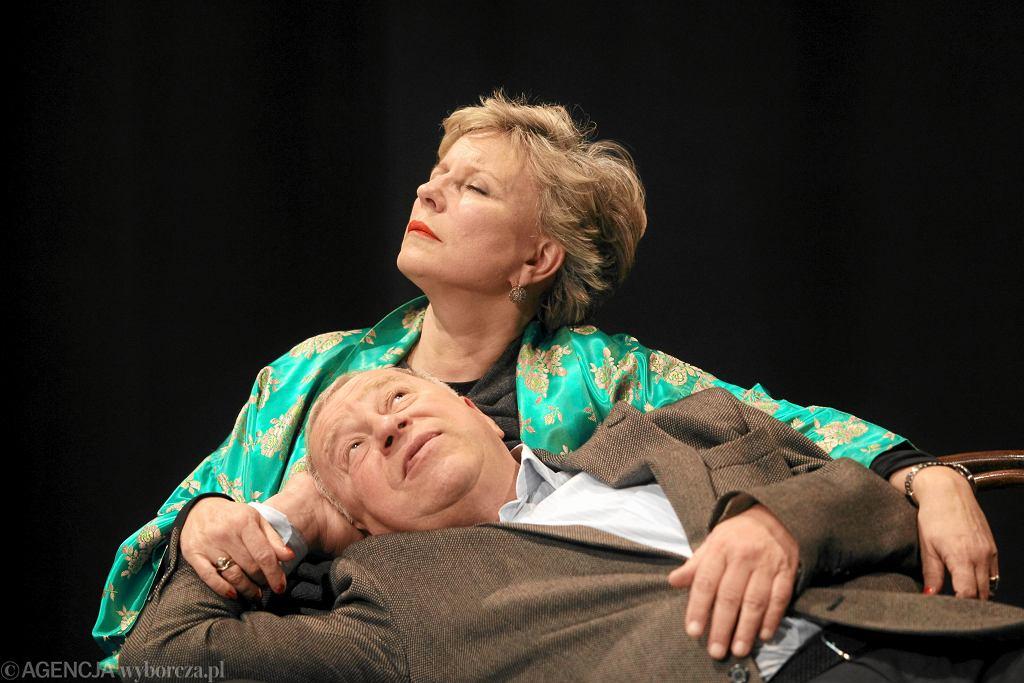 Jerzy Stuhr i Krystyna Janda