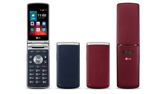 Smartfon z klapką od LG trafi do Polski. Jest tak bardzo retro, że ma nawet ekran 320x480 pikseli