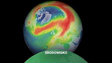 Dziura ozonowa nad Arktyką jest rekordowo duża