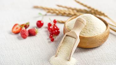 Kasza manna, czyli grysik pszenny, otrzymuje się z przemiału oczyszczonego ziarna pszenicy.