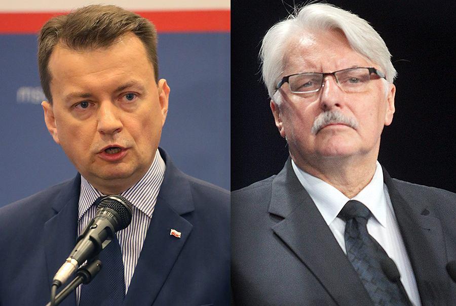 Mariusz Błaszczak i Witold Waszczykowski