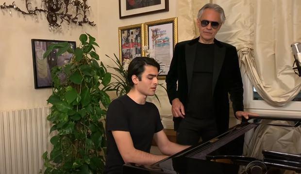 Andrea & Matteo Bocelli: Fall On Me