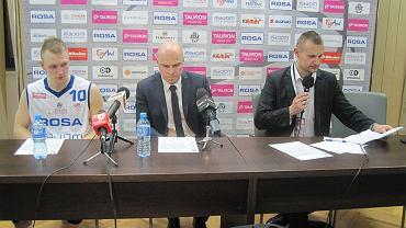 Konferencja po meczu Rosa Radom - Start Lublin