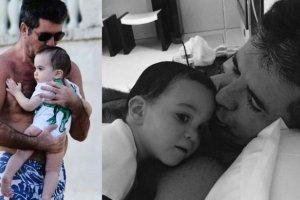 Simon Cowell z synem Ericem