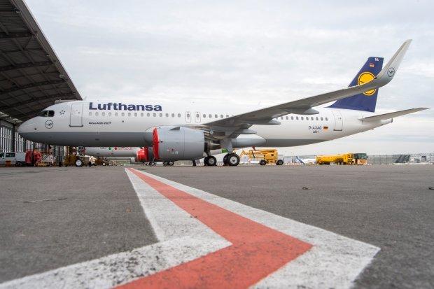 Lufthansa odebrała pierwszego na świecie Airbusa A320neo