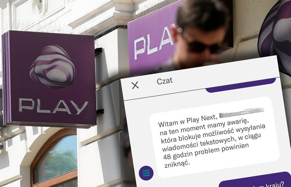 Play ma awarię. Są problemy z wysyłaniem wiadomości SMS