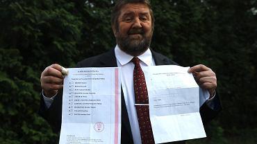 Stanisław Żółtek prezentuje pakiet wyborczy