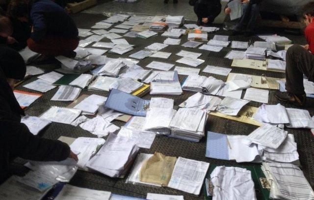 Dokumenty z willi Janukowycza