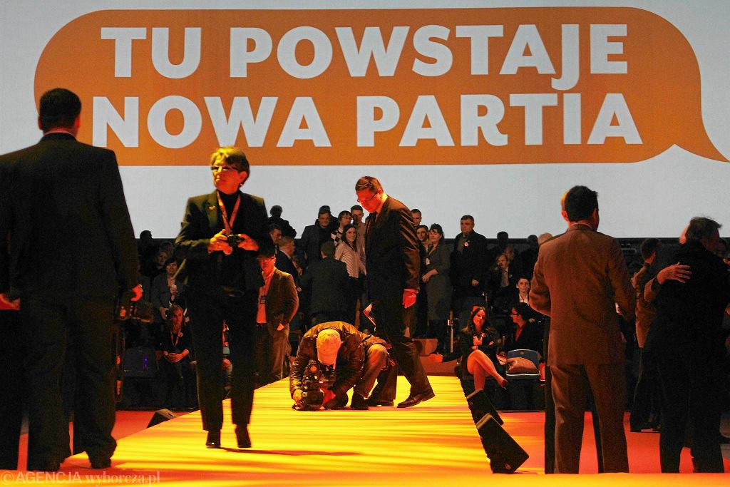 Kongres partii Twój Ruch, nowego ugrupowania Janusza Palikota