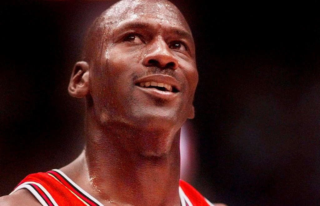 Michael Jordan w meczu Chicago Bulls vs.Utah Jazz, 14 czerwca 1988