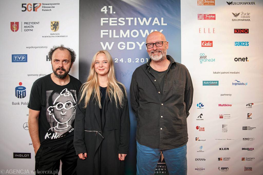 Konferencja prasowa filmu 'Wołyń' podczas 41. festiwalu filmowego w Gdyni